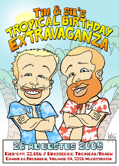 ece380b415 Cahier de Brouillon » Tim & Sil's Tropical Birthday Extravaganza